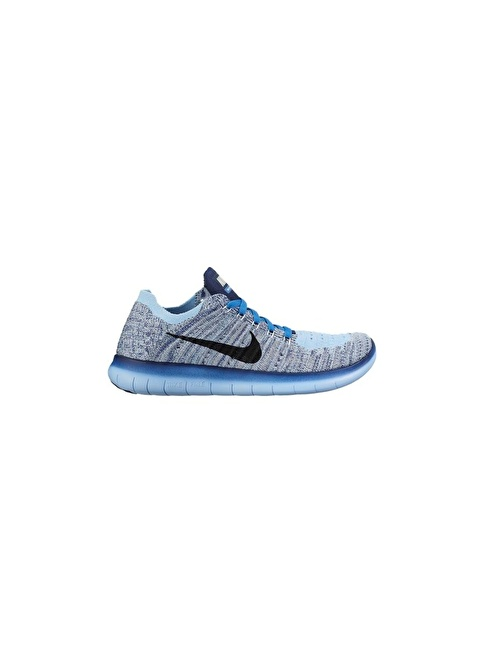 Nike Nike Free Rn Flyknit (Gs) Mavi